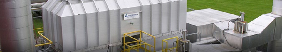 Plant with the Biotox air pollution treatment technology