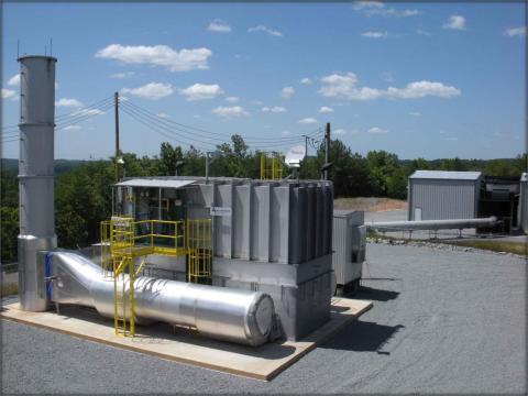 Coal mine ventilation air methane in Brookwood, Alabama