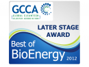 GCCA Award - Best of bioenergy