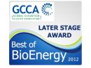GCCA Award - Best of bioenergy